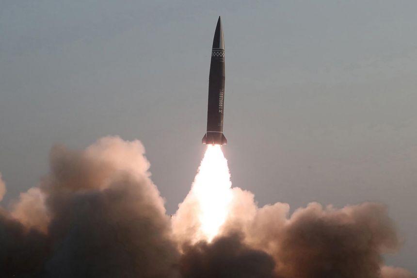 US, Japan, South Korea agree to keep up pressure on North Korea