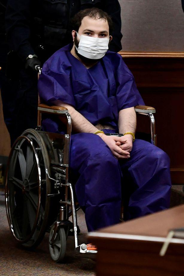 Boulder massacre suspect, 21, in court in wheelchair as 'mental illness' probed