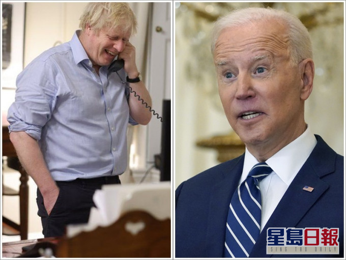 拜登与约翰逊通电话 倡建民主国家「一带一路」抗衡