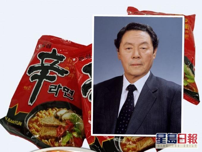 农心「辛辣面」发明人辛春浩病逝 享年92岁