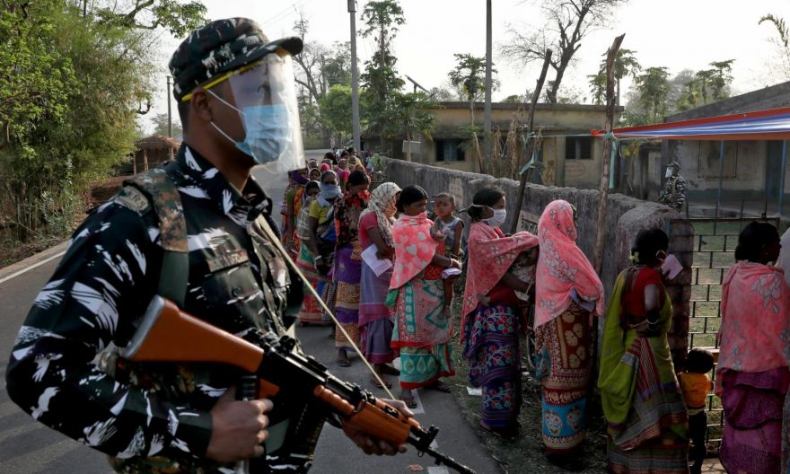 One dead as India's restive West Bengal state votes