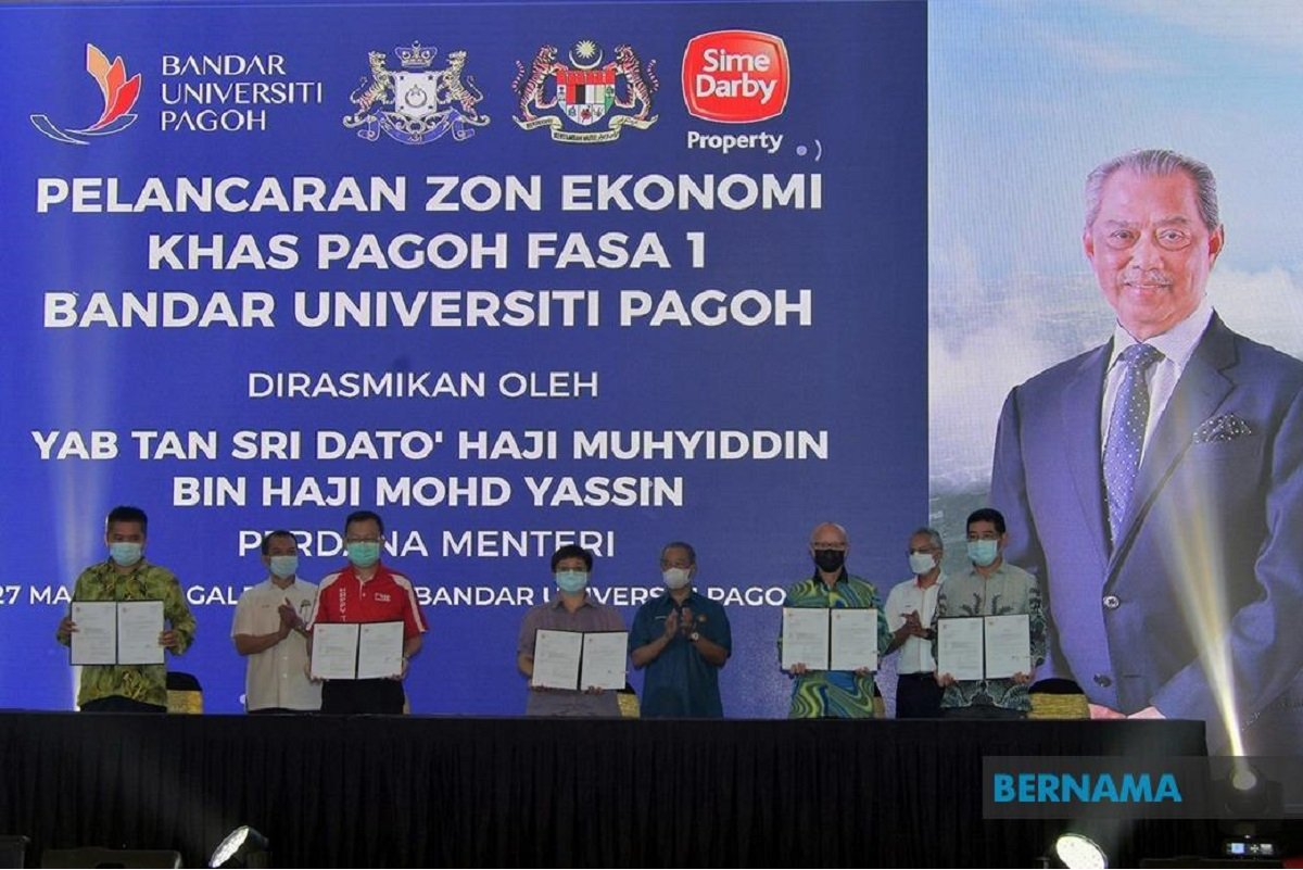 DRB-Hicom, Malakoff keen to invest in Pagoh Special Economic Zone — PM Muhyiddin