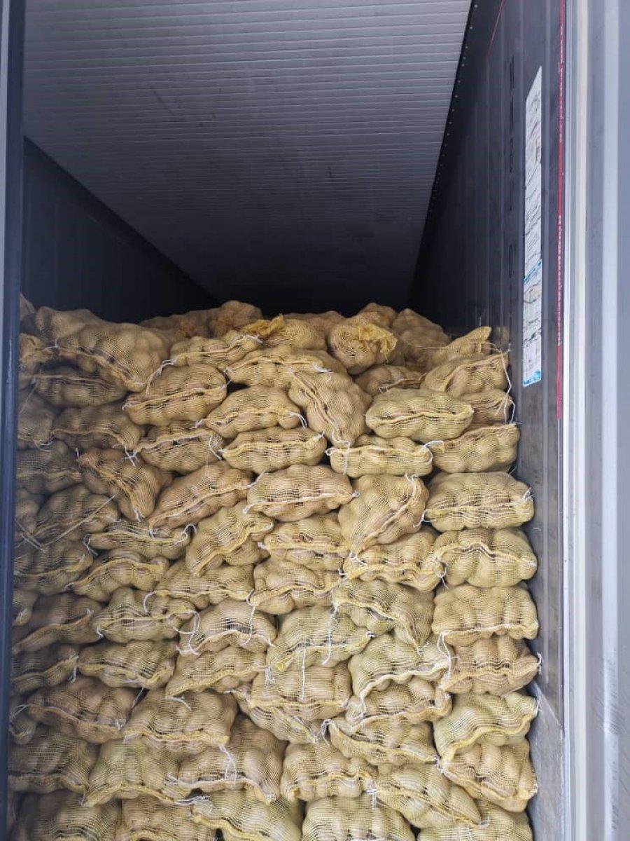 柔检疫局充公28吨马铃薯
