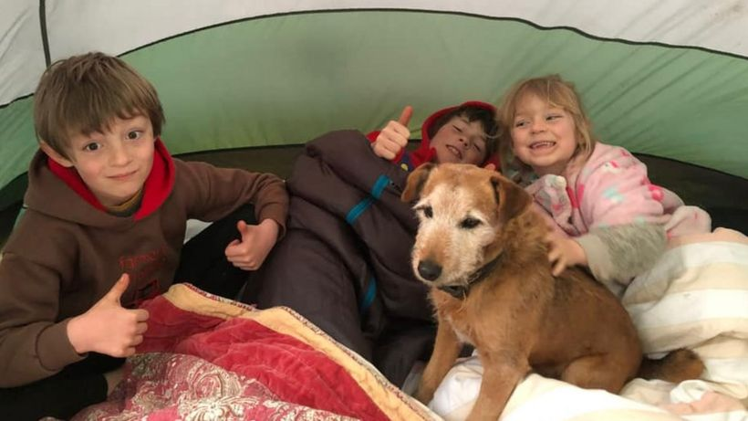 Max Woosey tent camp-out sees 1,000 children take part