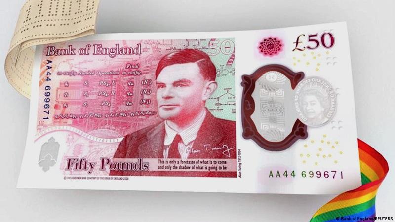 新版50英镑 纪念二战密码破译者