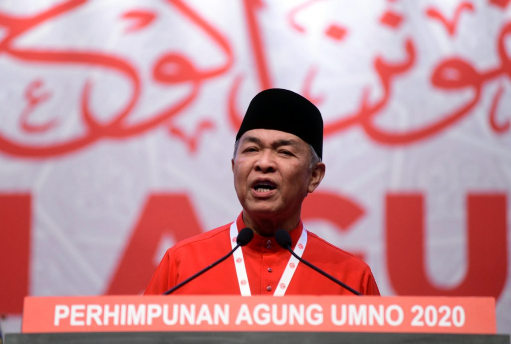 Ahmad Zahid: GE15 should have been in 1Q21