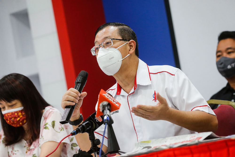 Guan Eng: New Treasury ordinance 'a cruel April's Fool' on parliamentary democracy