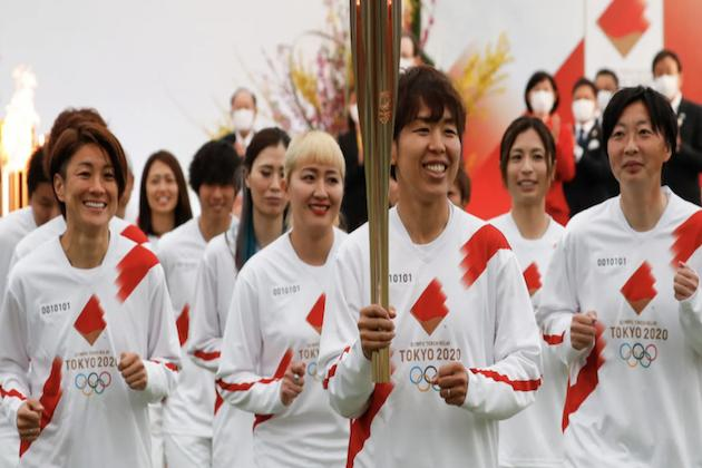 Torch has begun nationwide route to welcome Japan Summer Olympics