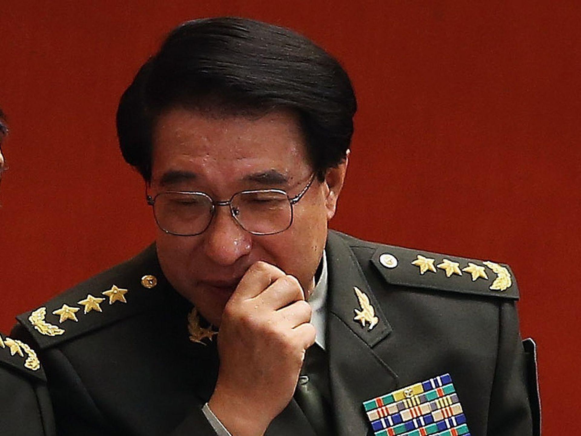胡锦涛任内国防部长梁光烈现身四川,释什么信号?(视频/组图)