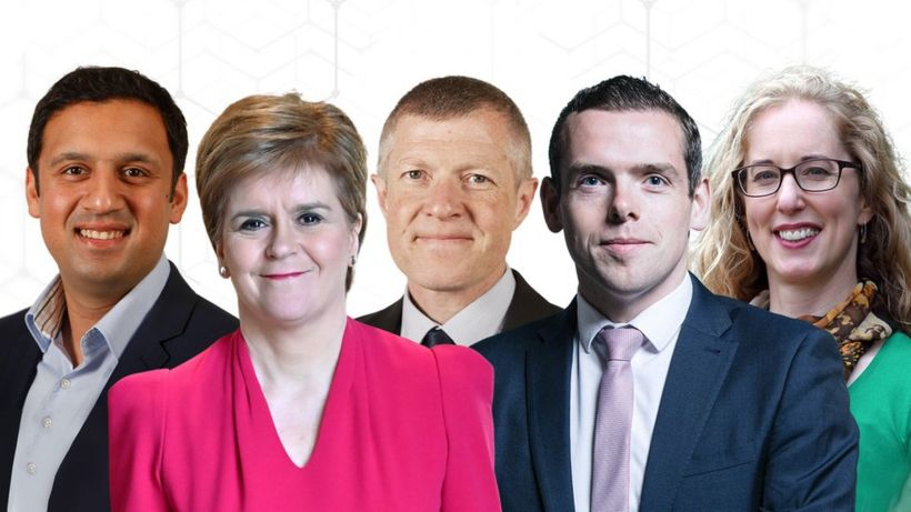 Holyrood 2021: Scottish leaders go head-to-head in first TV debate