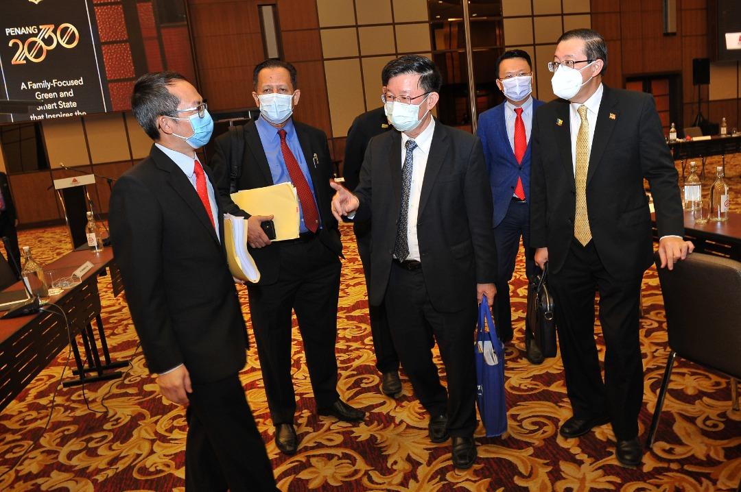 MITI本周四与槟州政府汇报职场安全SOP
