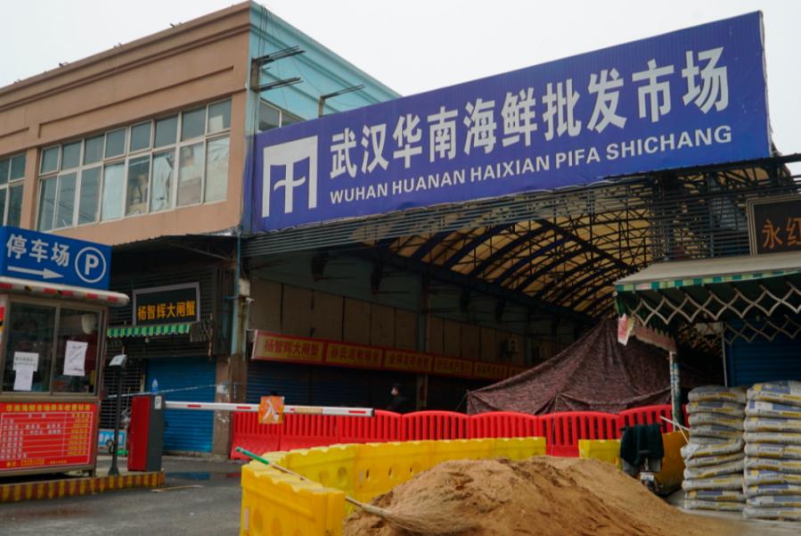 【新冠肺炎】世卫报告:华南海鲜市场 非疫情最初来源