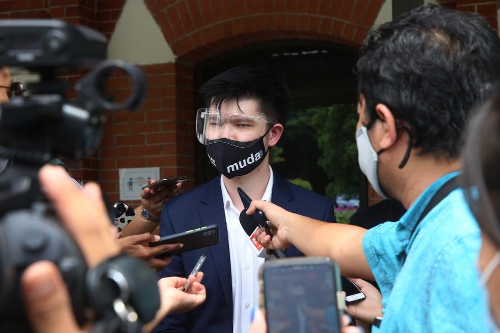 Muda veep rebuts Rais Yatim's claim on Undi18, says Elections Act doesn't need amending