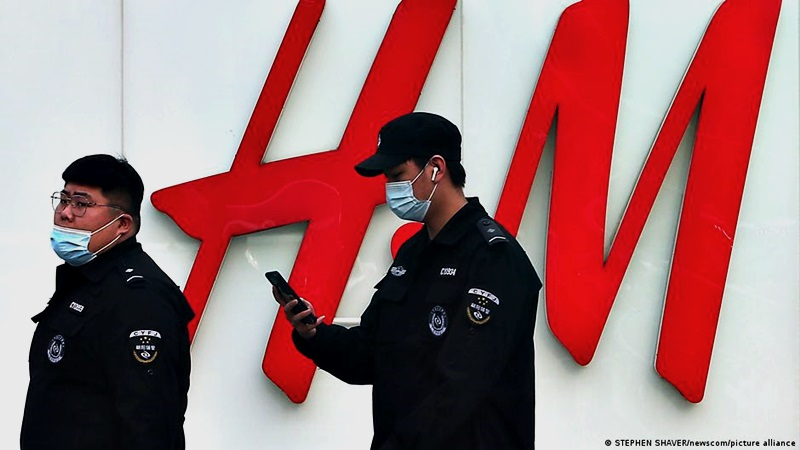 新疆棉事件升级 多家H&M中国实体店被关