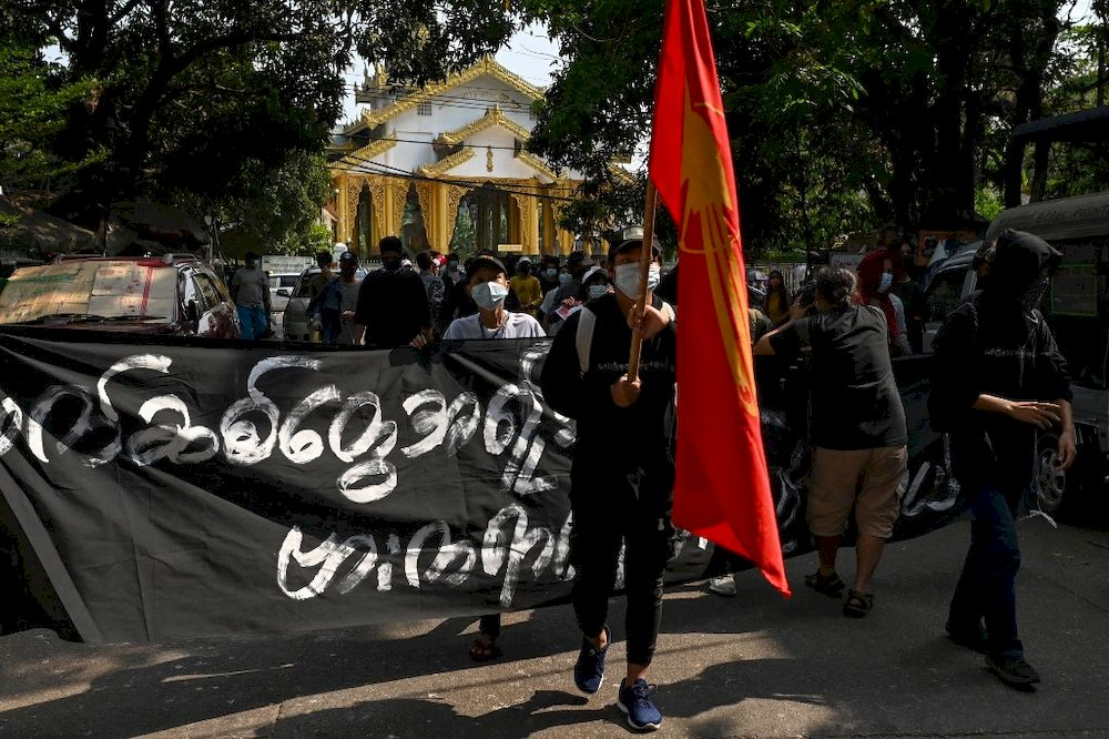 Myanmar 'traitors' hounded in online anti-coup campaign