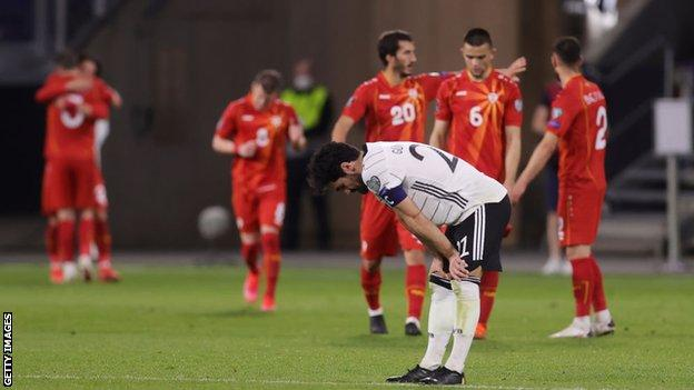 Germany 1-2 North Macedonia: Four-time world champions suffer shock defeat