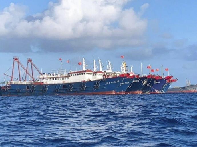 逾250中国船闯专属经济区 菲律宾要求立即驶离