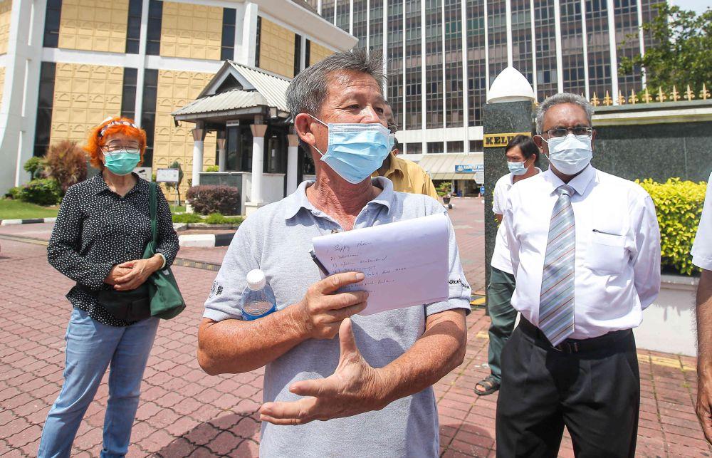 Lim Garden residents, Kanthan farmers against Silver Valley Technology Park development