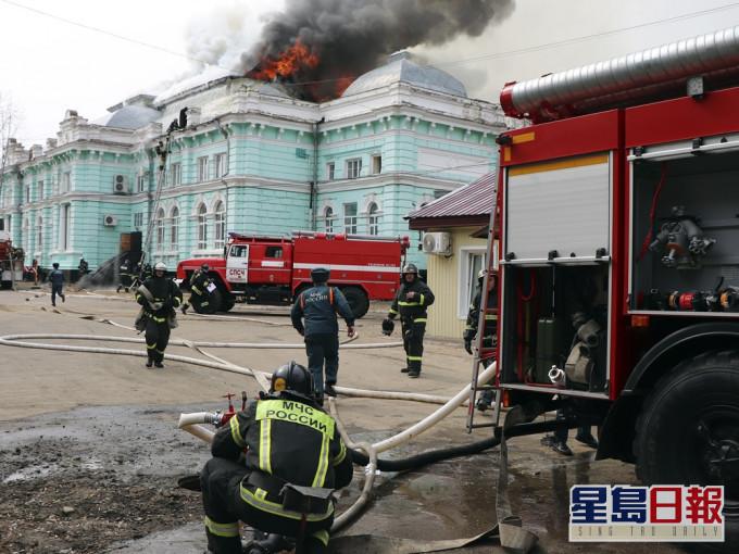 俄国医院开刀遇火警 医生淡定完成心脏手术