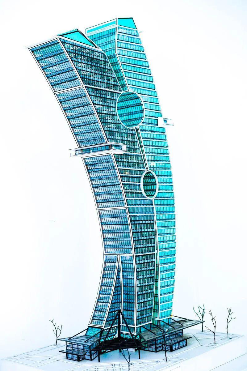 """迪拜40层""""晾衣夹""""大楼火了!恐成世界第一大艺术品"""