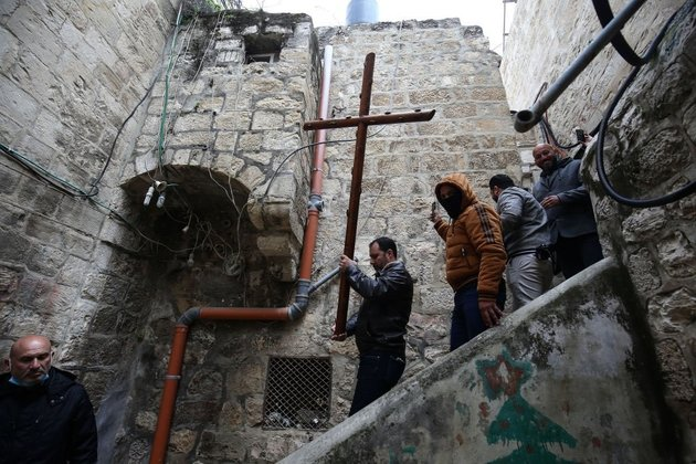Christians mark Good Friday in Jerusalem inching towards normalcy