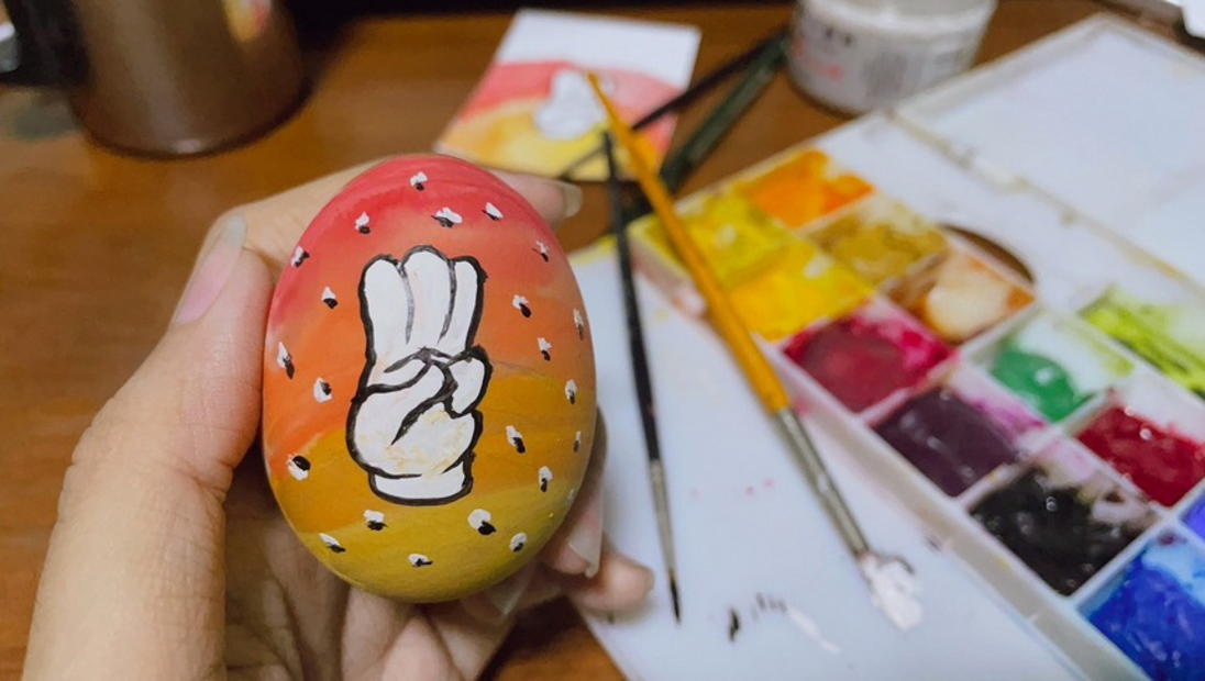 In Myanmar, Easter eggs become symbol of defiance for anti-coup protesters