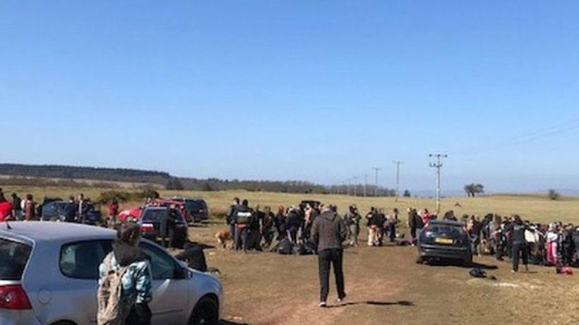 Dorstone 'illegal rave': Police set up road blocks