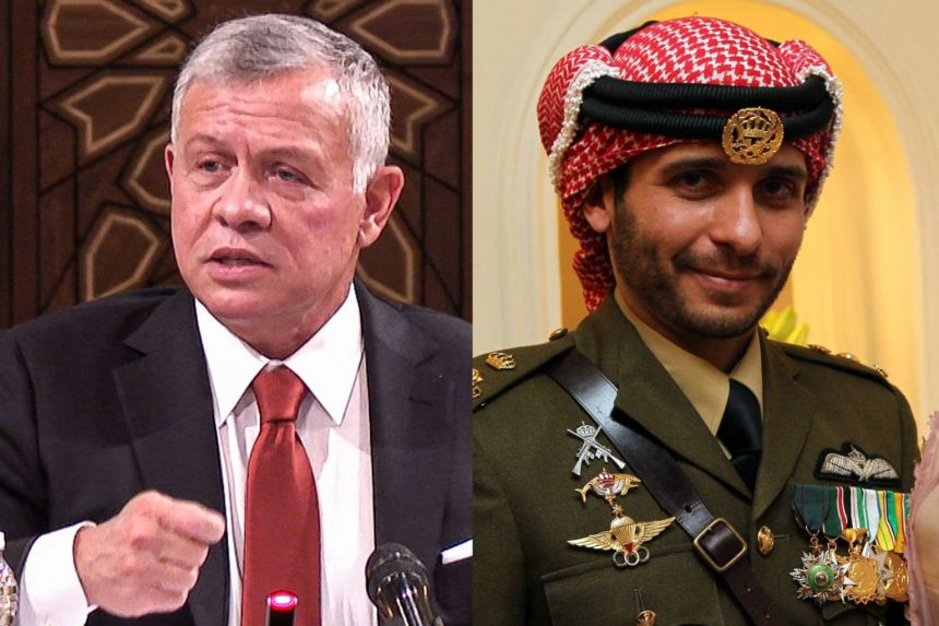 Jordanian king's half-brother told to halt actions related to country's 'security and stability'