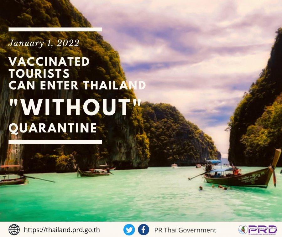 泰国5区料从10月起 完成新冠疫苗者入境免隔离
