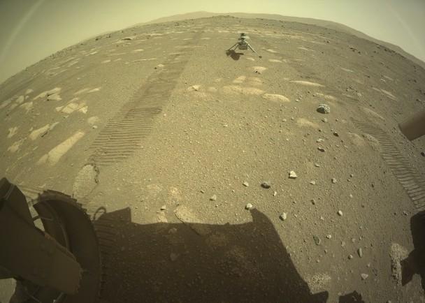 毅力号直升机着陆火星 首过寒夜将展开飞行任务