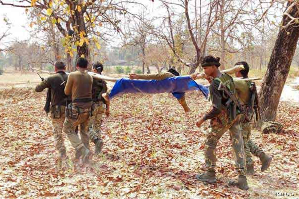 22 Indian security members killed in Maoist attack, says govt official