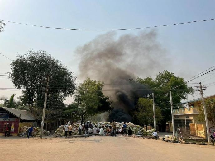 镇压示威者5死 缅军通缉20意见领袖