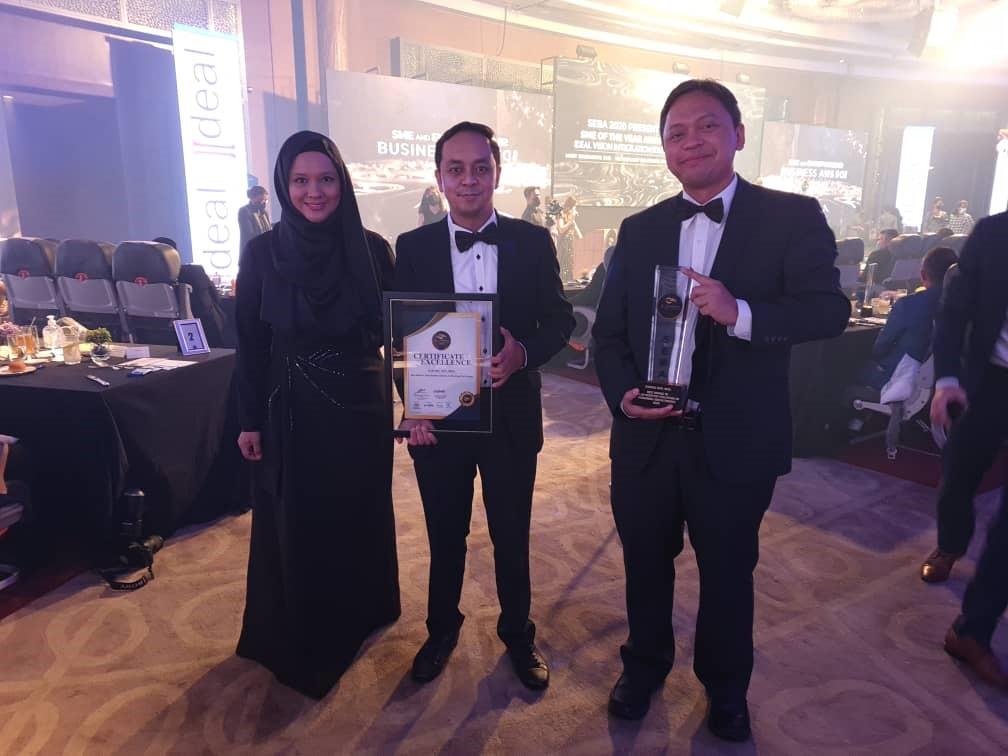 GSPARX与Allo科技 荣获SEBA中小企业双料大奖