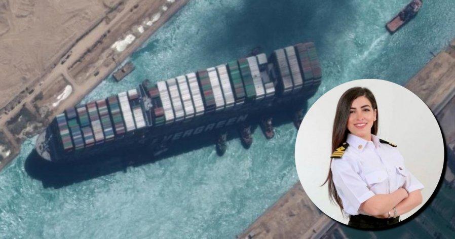 【长荣货轮搁浅】遭诬指害货轮搁浅 埃及首位女船长斥性别歧视