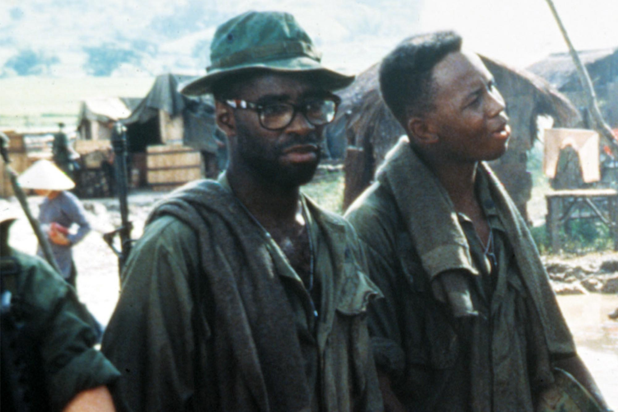 Courtney B. Vance recounts grueling death scene in his first film: 'It was horrific'