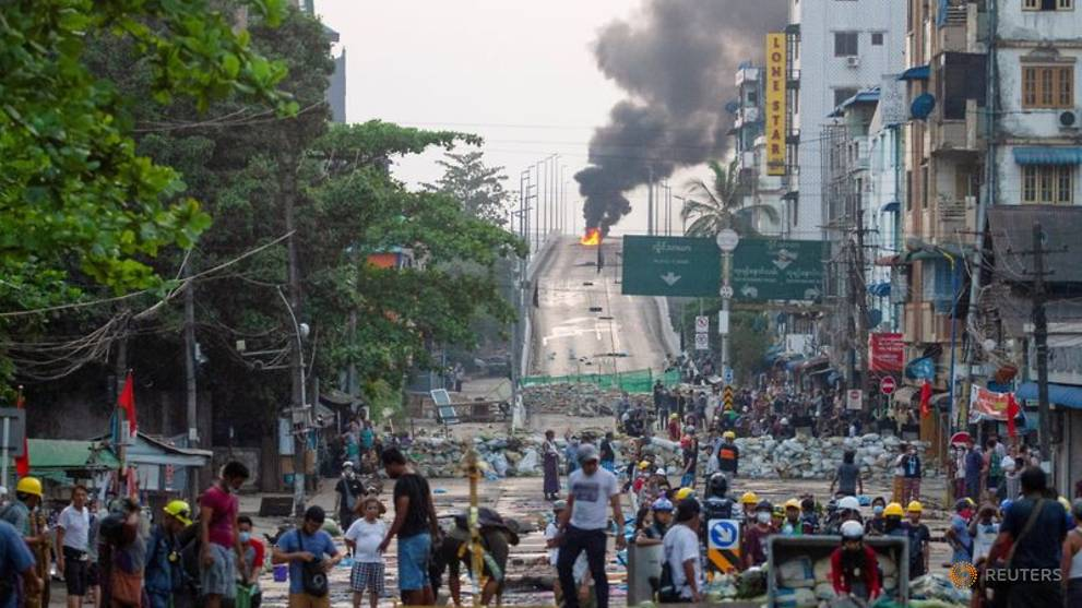 Russia warns Myanmar sanctions could spark 'full-blown civil conflict'