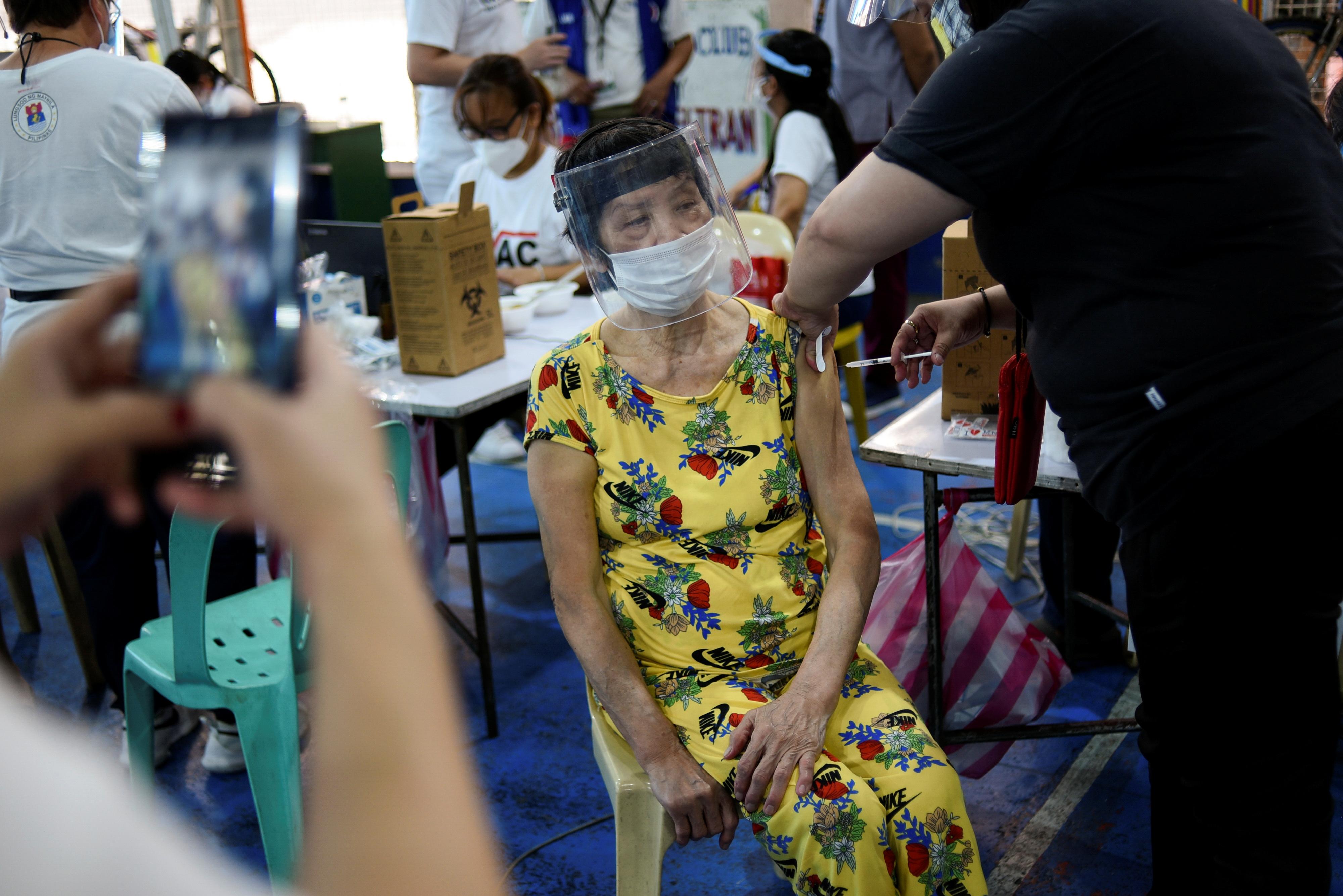 【冠状病毒19】菲律宾新增1万2225起确诊病例 401人病逝