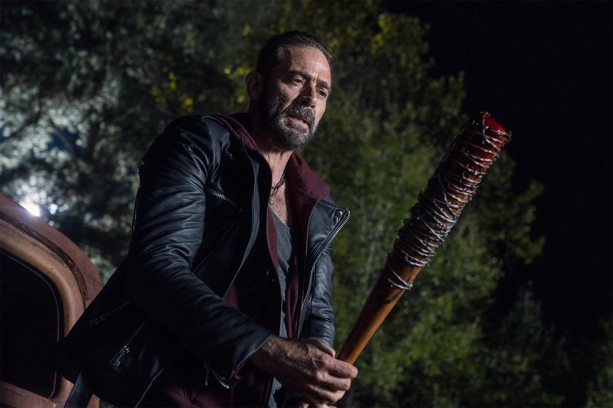 Jeffrey Dean Morgan was 'nervous as hell' how wife Hilarie Burton would do on The Walking Dead