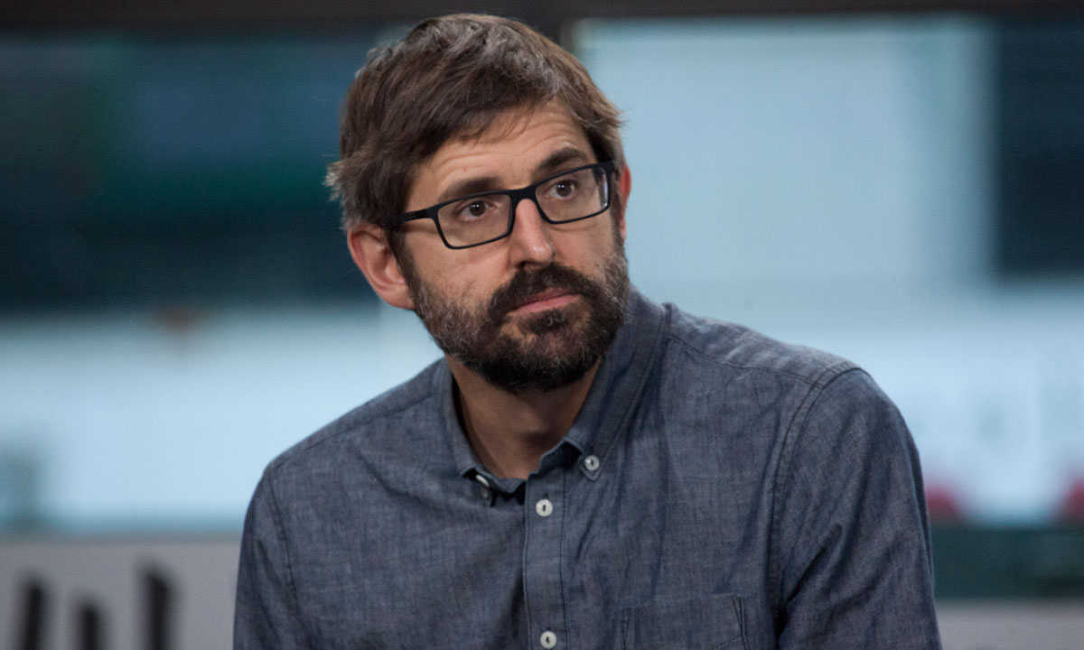Louis Theroux makes rare comment about his wife