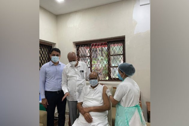 Sharad Pawar receives second dose of COVID-19 vaccination
