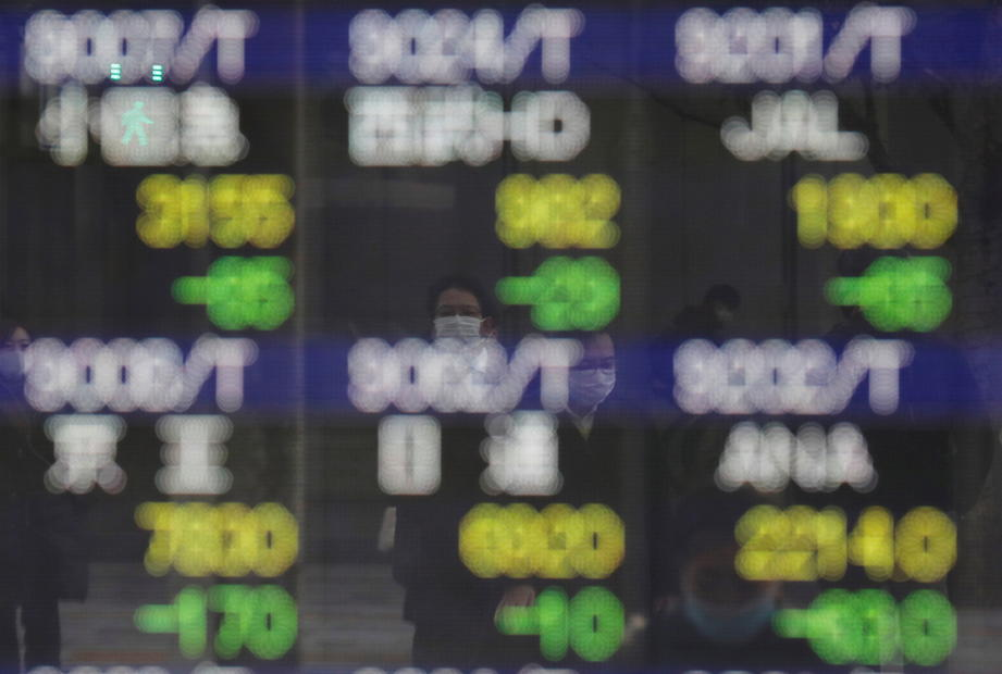 Asia shares set for sluggish start after Wall Street retreats from record highs
