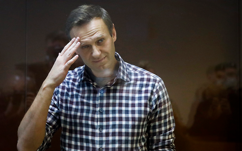 Jailed Navalny tested for Covid-19 after developing fever, cough