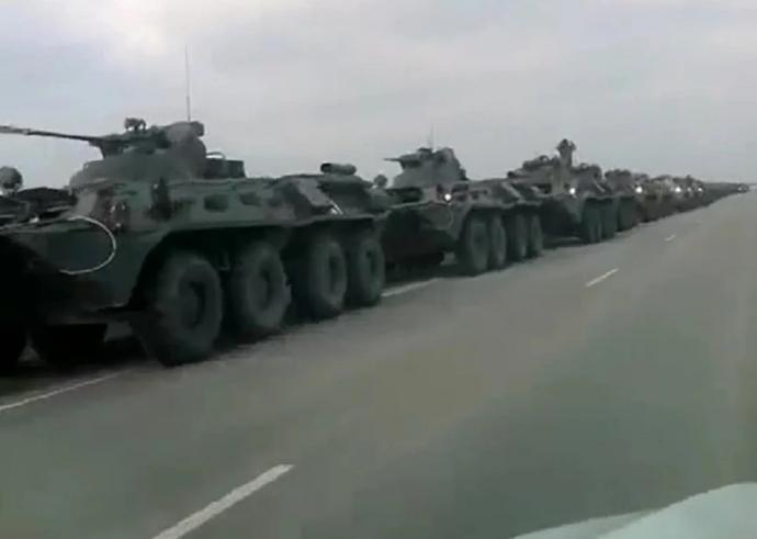 俄大军集结乌边境 月内恐爆世界大战