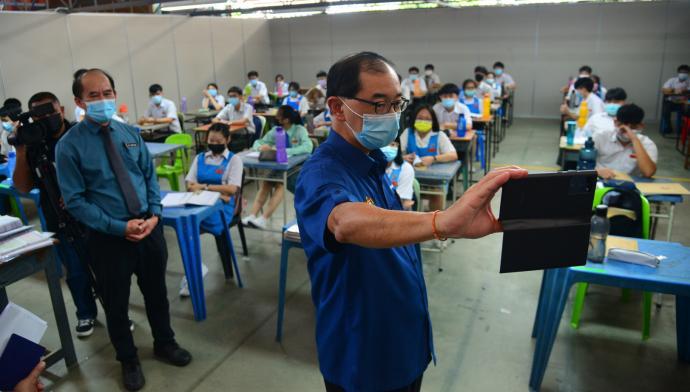 马汉顺:维修基建 163华小获拨款