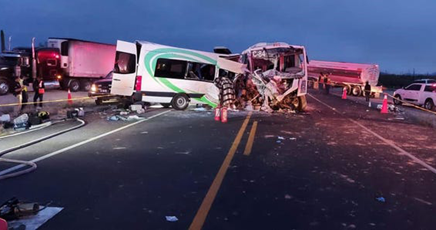 16 Mine Workers Dead, 14 Injured in Bus Crash Near U.S.-Mexico Border