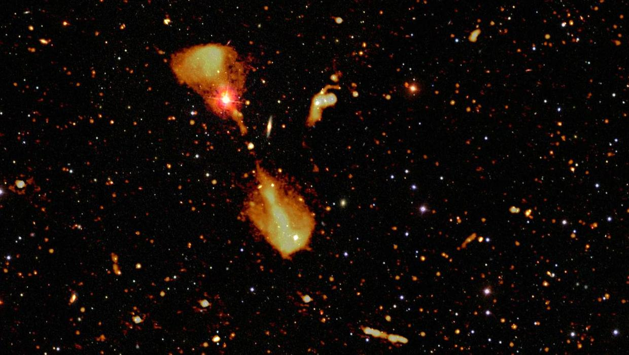 International astronomy team reveal images of star-forming galaxies