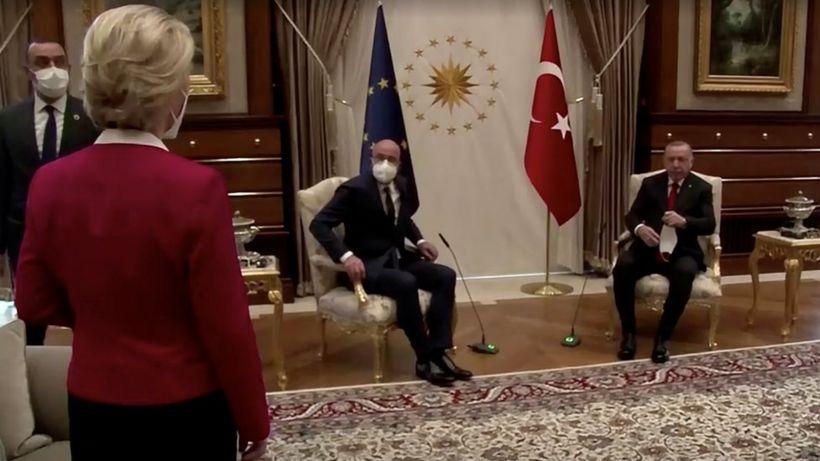 Turkey blames EU in 'sofagate' diplomatic spat
