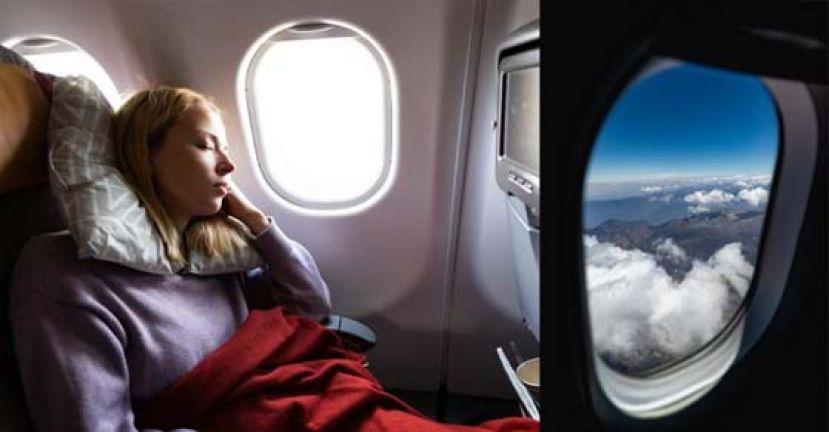 资深空姐曝搭机禁忌 别靠窗睡赤脚走动喝冰水