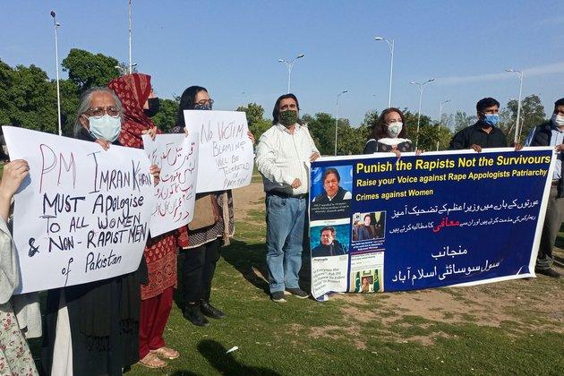 Pakistani Prime Minister Under Fire for Rape Remarks
