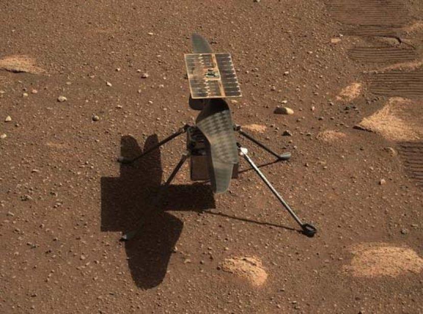 """""""机智号"""" 火星直升机拟11日尝试首次动力飞行"""
